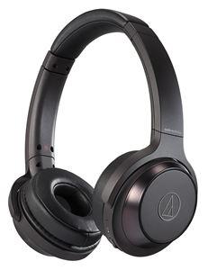 【SOLID BASS】audio-technica/Bluetooth対応ワイヤレスヘッドホン/ATH-WS330BT BK