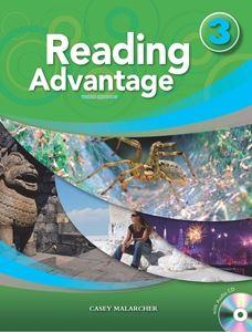 ■外国語教材 Reading Advantage 3rd 贈り物 Edition Level Book CD 3 with Student Audio ☆新作入荷☆新品