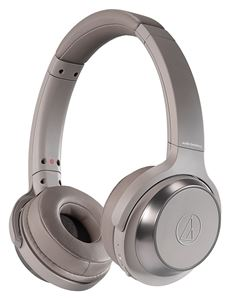 【SOLID BASS】audio-technica/Bluetooth対応ワイヤレスヘッドホン/ATH-WS330BT KH