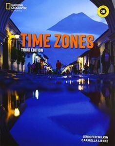 ■外国語教材 Time Zones 3 E Book 2 Combo Practice Split 上質 B Online with 日本