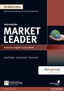 オリジナル ■外国語教材 2020モデル Market Leader 3rd Edition Extra Intermediate with Access MyLab Coursebook and DVD-ROM