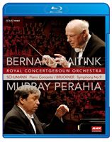 NHK classical Haitink conduct royal コンセルトヘボウ orchestra Perahia Schumann: Piano concerto / Bruckner: The ninth symphony (Blu-ray)
