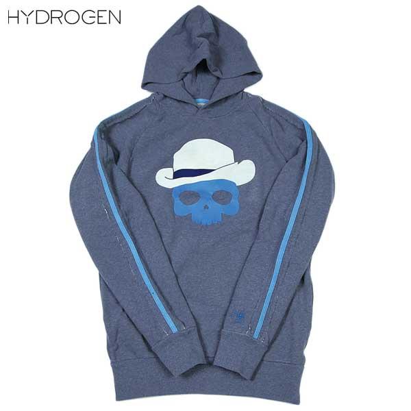 【送料無料】 ハイドロゲン(HYDROGEN) メンズ プルオーバー パーカー グレーブルー 0B2036 H3 13A