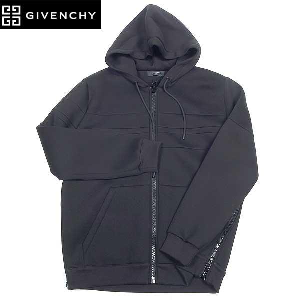 【送料無料】 ジバンシー(GIVENCHY) メンズ ジップアップ パーカー ブラック 7150 690 01 13A