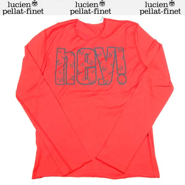 【送料無料】 ルシアンペラフィネ(lucien pellat-finet) レディース Tシャツ ロンT 長袖 カットソー EVF1450 13A