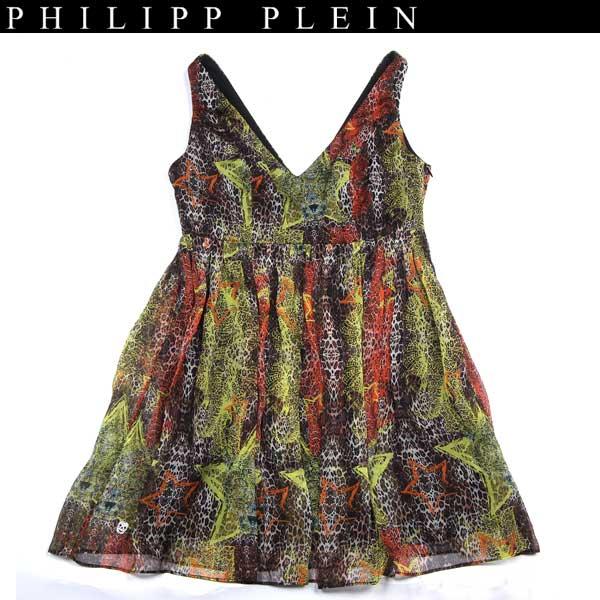 フィリッププレイン PHILIPP PLEIN レディース シルク ドレス ワンピース