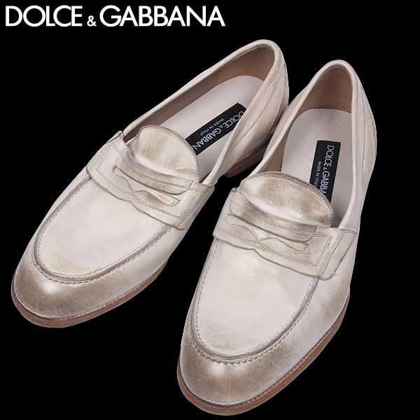 【送料無料】 ドルチェアンドガッバーナ(DOLCE&GABBANA) メンズ ヴィンテージ クラシック モカシン ローファー 靴 CA6054 A1828 80004 14S
