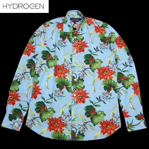 ハイドロゲン HYDROGEN メンズ スカル カジュアルシャツ 140507 801 14S【送料無料】【smtb-TK】