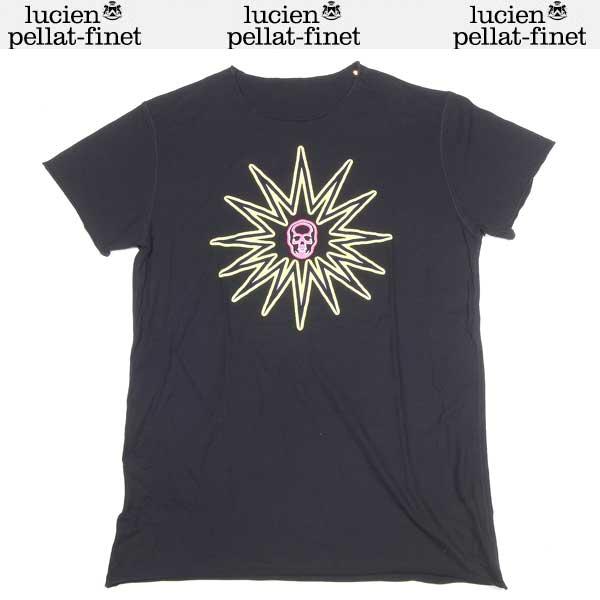 ルシアンペラフィネ lucien pellat-finet メンズ スカル 半袖 Tシャツ EVH1395 BLACK 14S (R67200)【送料無料】【smtb-TK】