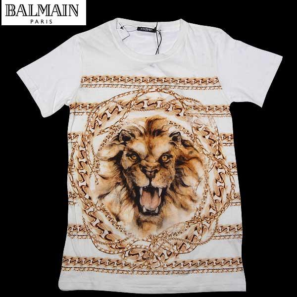 バルマン BALMAIN レディース 半袖 Tシャツ カットソー 8161 290I C5200 14S【送料無料】【smtb-TK】