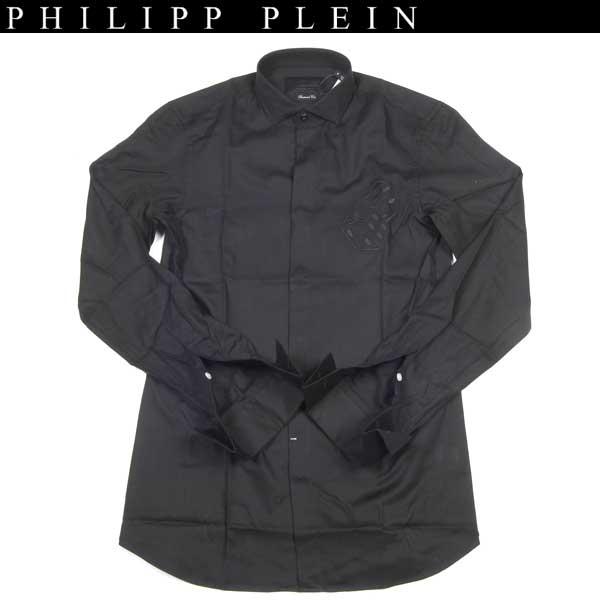 フィリッププレイン PHILIPP PLEIN メンズ コットン シャツ