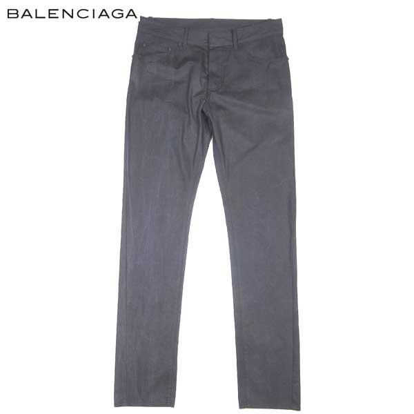 バレンシアガ BALENCIAGA メンズ コットン パンツ 301832 TIB07 1000 14S (R79800) 【送料無料】【smtb-TK】