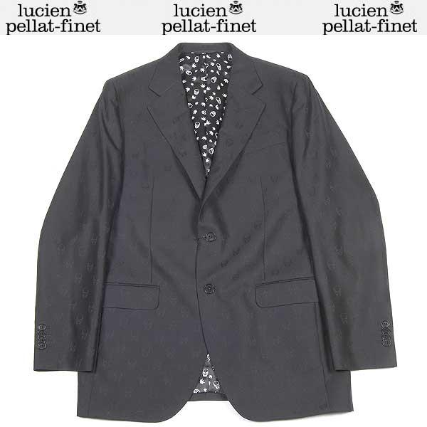 ルシアンペラフィネ lucien pellat-finet メンズ テーラード ジャケット MIC22H BLACK 13A【送料無料】【smtb-TK】