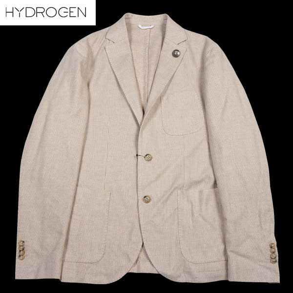 ハイドロゲン HYDROGEN メンズ スカル コットン テーラード ジャケット ブレザー 150306 041 DB14A【送料無料】【smtb-TK】
