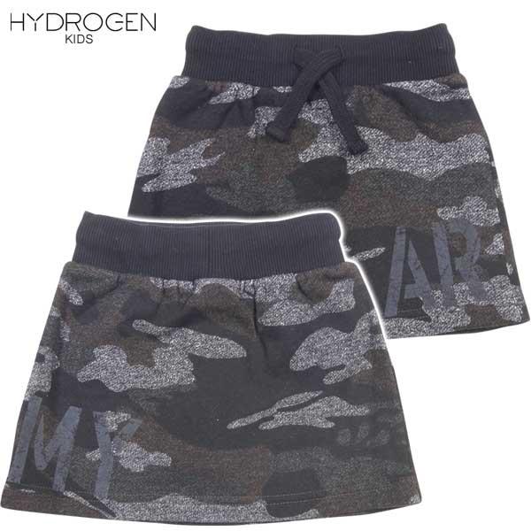ハイドロゲン HYDROGEN キッズ BRONZAJI ARMY ミニスカート 15B032 035 DB14A