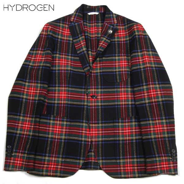 ハイドロゲン HYDROGEN メンズ タータンチェック ジャケット ブレザー 150306 029 DB14A【送料無料】【smtb-TK】