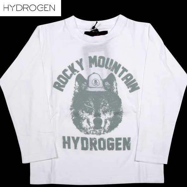 【送料無料】 ハイドロゲン(HYDROGEN) キッズ ロッキーマウンテン ロング Tシャツ 152016 001 【smtb-TK】 DB14A