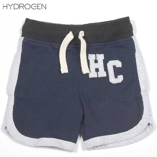 ハイドロゲン(HYDROGEN) キッズ スカル スウェット ハーフパンツ 146006 013 【smtb-tk】 14S