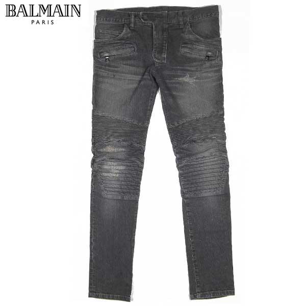 バルマン BALMAIN メンズ バイカーデニム ジーンズ ライダース W4HT538 C479 179 14A (R160500) 【送料無料】【smtb-TK】