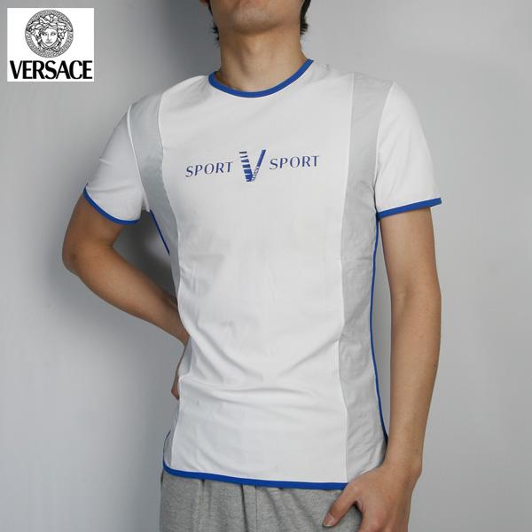 ヴェルサーチ Versace クルーネック半袖 Tシャツ RT2741-82303-WH ホワイト (R37800)【送料無料】【smtb-TK】