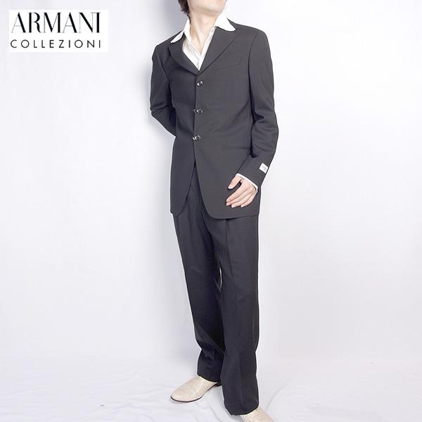 アルマーニ コレッツォーニ ARMANI COLLEZIONI スーツ セットアップ 2B83EM M1366 ブラック 黒 (R168000) 【送料無料】【smtb-TK】
