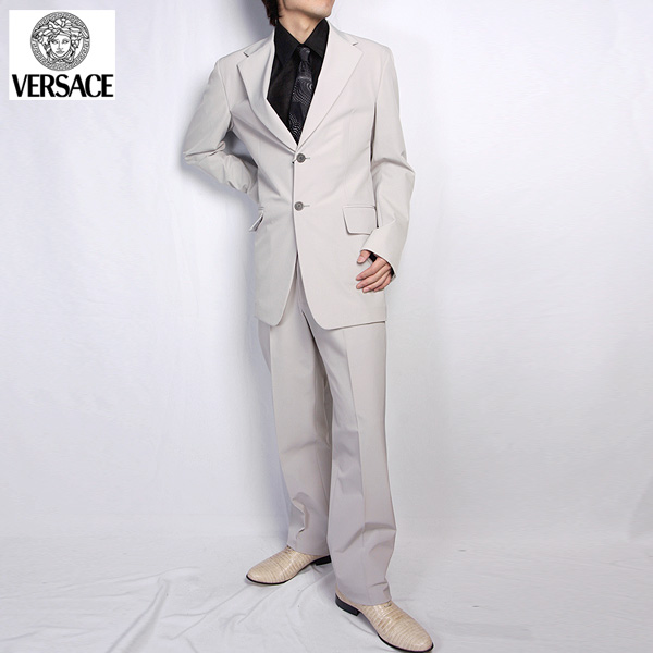 ヴェルサーチ Versace スーツ セットアップ 20015 GV アイボリー (R273387)【送料無料】【smtb-TK】