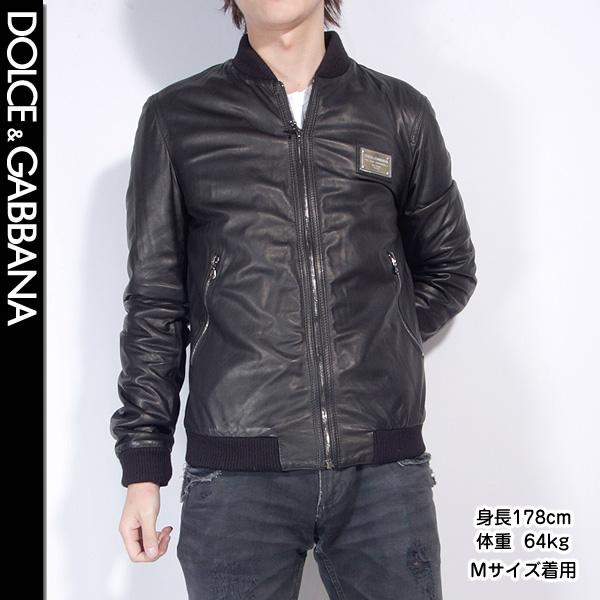 f00de7d11b19 Dolce and Gabbana (DOLCE GABBANA) men leatherette jacket G9K50L FULM2 N0000  black (black)