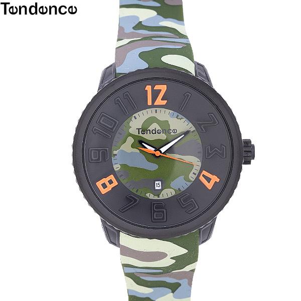 テンデンス TENDENCE グッズ 腕時計 ラウンドガリバー ROUND GULLIVER 2043030-DARK GREEN グリーンカモフラージュ (R21137)【送料無料】【smtb-TK】