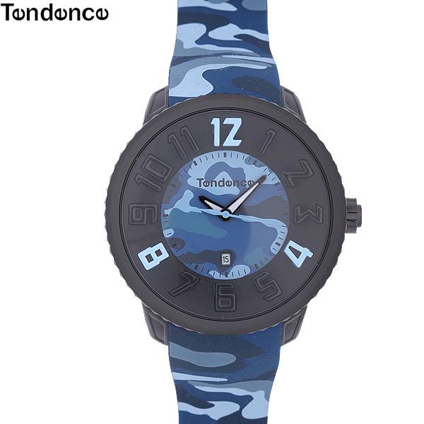 テンデンス TENDENCE グッズ 腕時計 ラウンドガリバー ROUND GULLIVER 2043029-BLUE ブルーカモフラージュ (R21137)【送料無料】【smtb-TK】