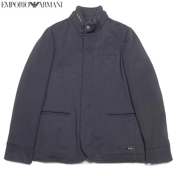 エンポリオアルマーニ EMPORIO-ARMANI メンズ デザイナーズジャケット K1G850 K1509 399ブラック 黒 【送料無料】【smtb-TK】