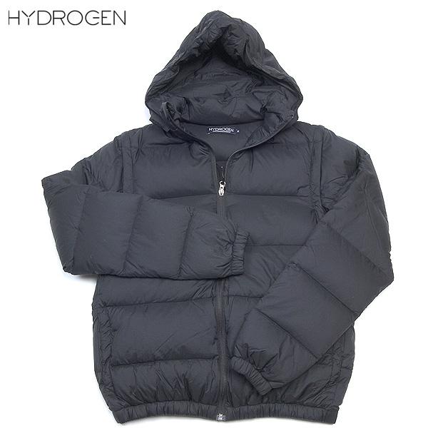 ハイドロゲン HYDROGEN メンズ 2Way スカル刺繍 ダウン ジャケット ベスト ブラック 110500 NERO 12A【送料無料】【smtb-TK】