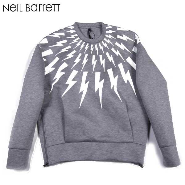 ニールバレット Neil Barrett メンズ ウレタントレーナー スウェット PBJE587Y S2550 025 15S【送料無料】【smtb-TK】