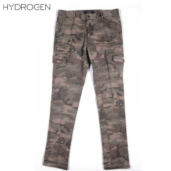 ハイドロゲン HYDROGEN メンズ ミリタリー チノカーゴパンツ 160522 397 DB15S【送料無料】【smtb-TK】