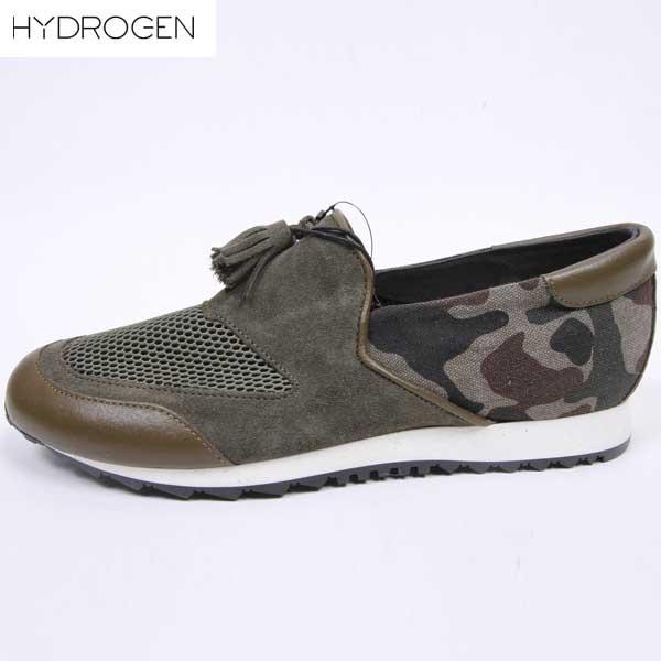 ハイドロゲン HYDROGEN メンズ スリッポン スニーカー 靴 163101 947 15S【送料無料】【smtb-TK】