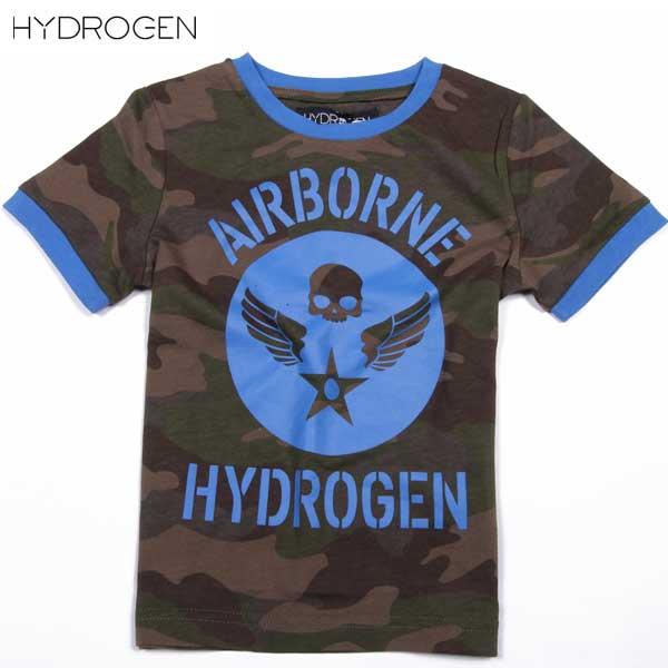 ハイドロゲン HYDROGEN キッズ クルーネック 半袖 Tシャツ 162604 897 DB15S (R16200)