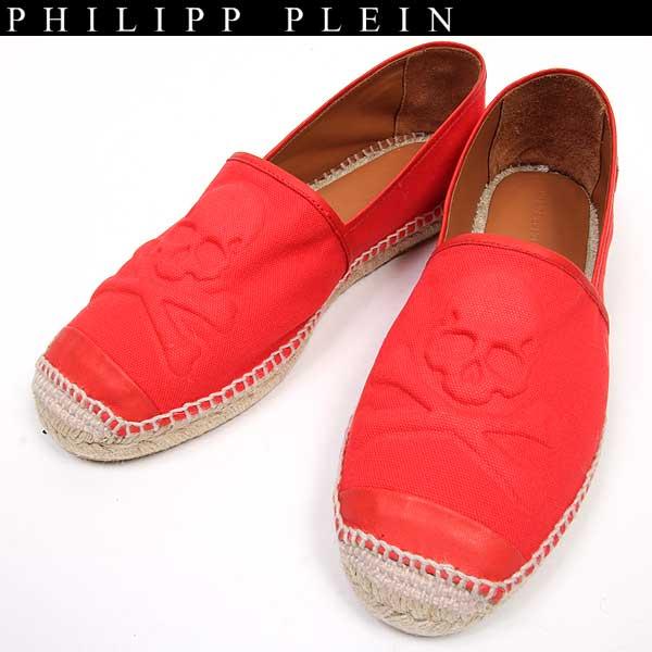 フィリッププレイン PHILIPP PLEIN メンズ スカル エスパドリーユ 靴 killer SM165501 13 15S【送料無料】【smtb-TK】