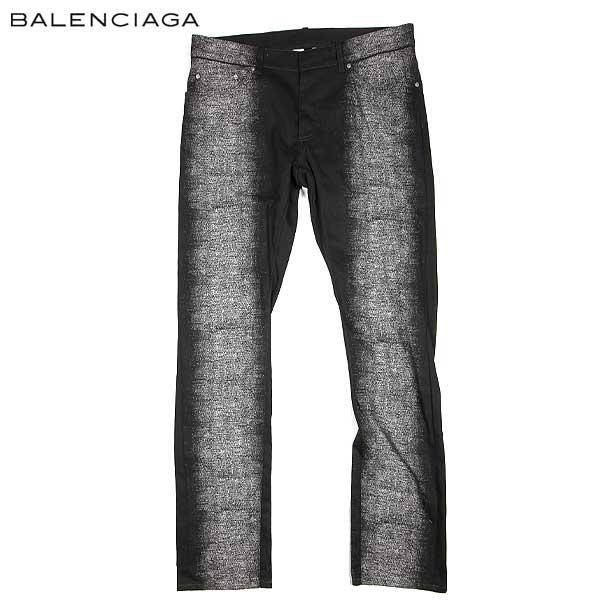 バレンシアガ BALENCIAGA メンズ コットンパンツ 301832 TME15 1000 15S (R88600) 【送料無料】【smtb-TK】