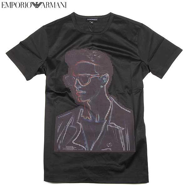 エンポリオアルマーニ EMPORIO-ARMANI メンズ 半袖 Tシャツ R1T17J R1Z2J 999 15S【送料無料】【smtb-TK】