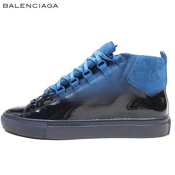 バレンシアガ BALENCIAGA メンズ ハイカット スニーカー 靴 373399 WAJ50 4364 15S【送料無料】【smtb-TK】