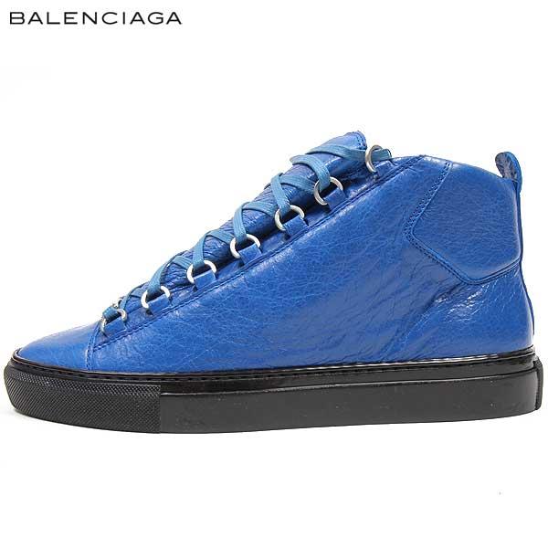 バレンシアガ BALENCIAGA メンズ ハイカット スニーカー 靴 373401 WAD40 4315 15S【送料無料】【smtb-TK】