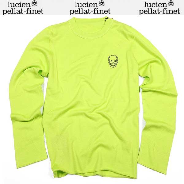 ルシアン ペラフィネ lucien pellat-finet メンズ スカル ロング 長袖 Tシャツ AT2005H POMMELO 15S【送料無料】【smtb-TK】