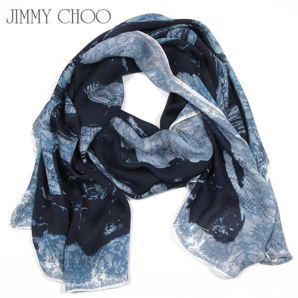 ジミーチュウ Jimmy Choo シルクストール マフラー スカーフ H6802015 SP J370 SF15S【送料無料】【smtb-TK】