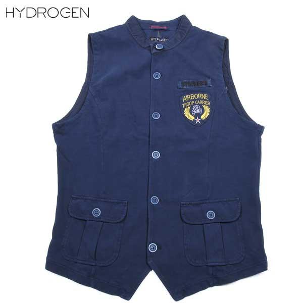ハイドロゲン HYDROGEN メンズ ミリタリー ジレ ベスト 160705 13 15S【送料無料】【smtb-TK】