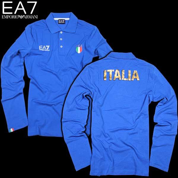 エンポリオアルマーニ EMPORIO-ARMANI メンズ EA7 長袖 シャツ イタリアチーム 273223 CC914 12633 15S【送料無料】【smtb-TK】