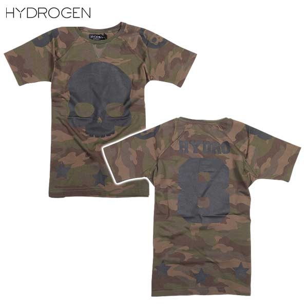 ハイドロゲン HYDROGEN キッズ スカル 半袖 Tシャツ 162002 397 DB15S