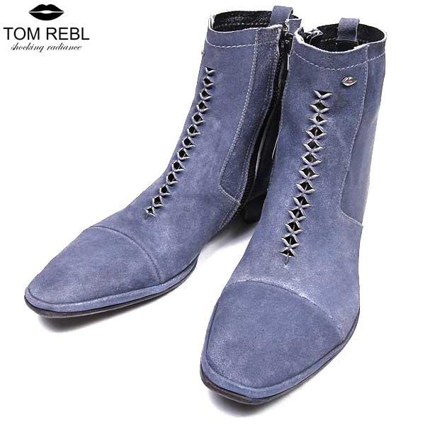 トム レベル TOM REBL メンズ スウェード ブーツ 靴 1U2634 90 SF15S【送料無料】【smtb-TK】