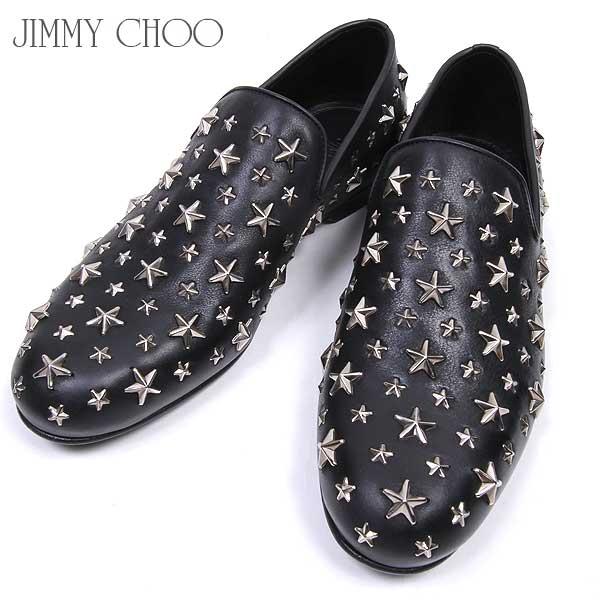 ジミーチュウ Jimmy Choo メンズ スリッポン ローファー 靴 SLOANE BLS BLACK 15A【送料無料】【smtb-TK】