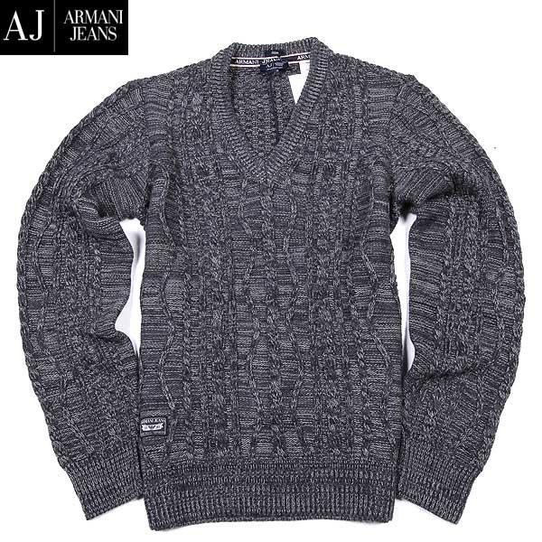 アルマーニジーンズ ARMANI-JEANS メンズ ウール カットソー セーター B6W36 TH KX 15A (R52800) 【送料無料】【smtb-TK】