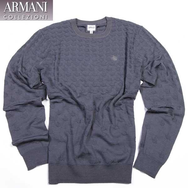 アルマーニ コレッツォーニ ARMANI COLLEZIONI メンズ ウール セーター カットソー SCM02M SC03M 620 15A【送料無料】【smtb-TK】