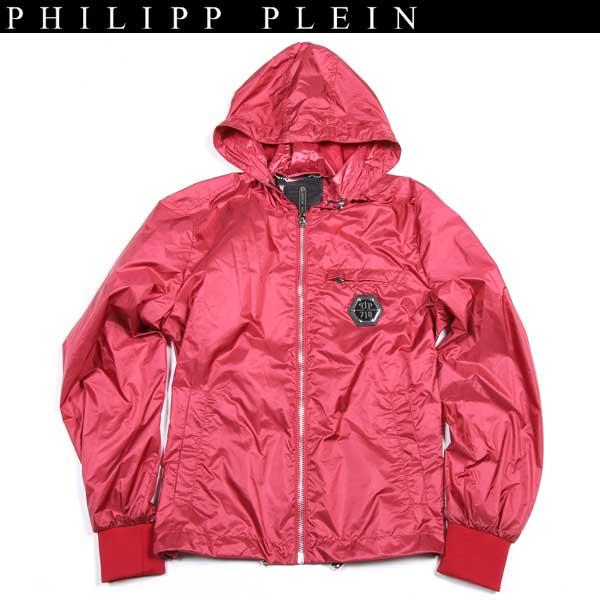 【送料無料】 フィリッププレイン(PHILIPP PLEIN) メンズ ナイロンパーカー ジャケット